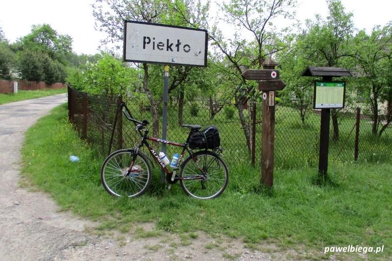 Rowerem - Piekło