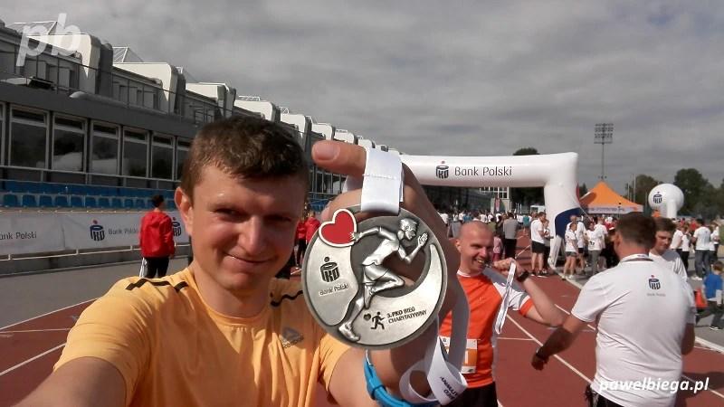 3. PKO Bieg Charytatywny - medal