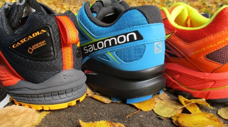Wodoodporne buty do biegania w terenie