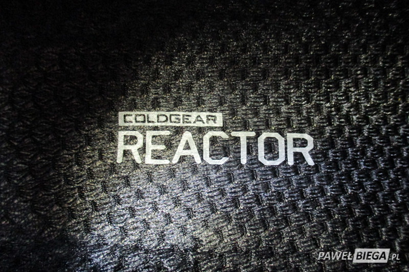 Under Armour Charged Reactor - detal