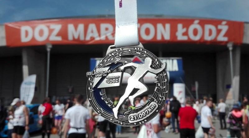 Półmaraton DOZ Dbam o Zdrowie - medal