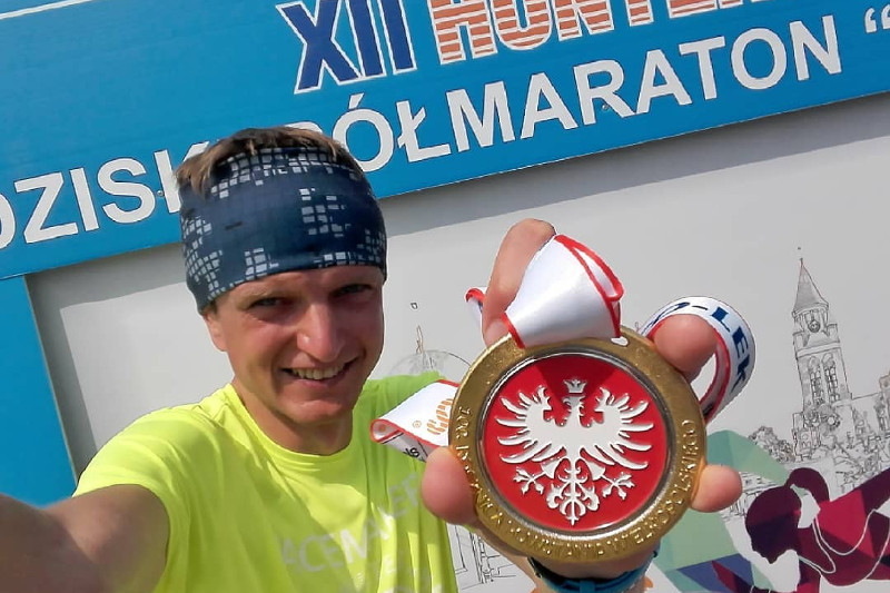 Półmaraton Słowaka 2018 - medal