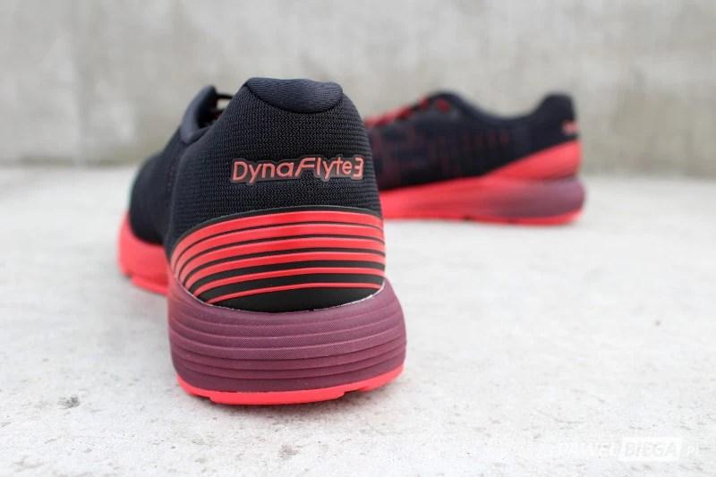 Asics DynaFlyte 3 - zapiętek