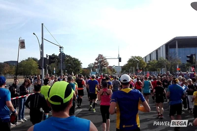 Berlin Marathon 2018 - pierwsze kilometry