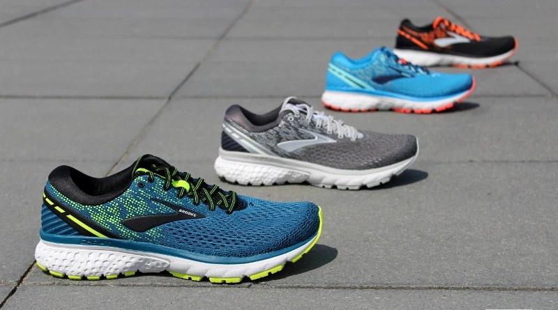 Nazwy i logotypy butów do biegania