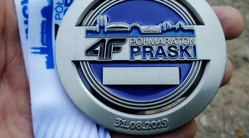 Półmaraton Praski 2019 - medal