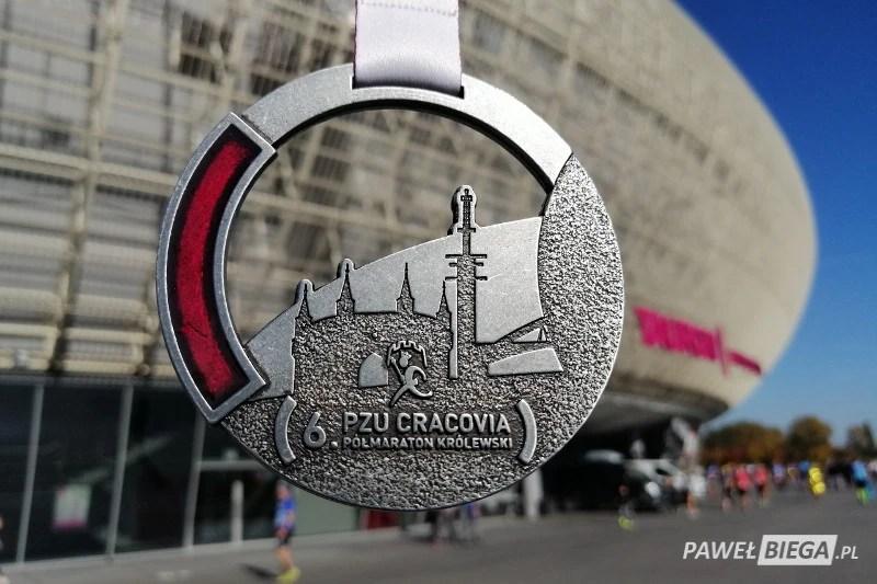 6 Cracovia Półmaraton - medal