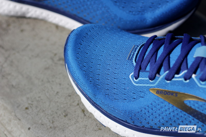 Brooks Glycerin 18 - toebox