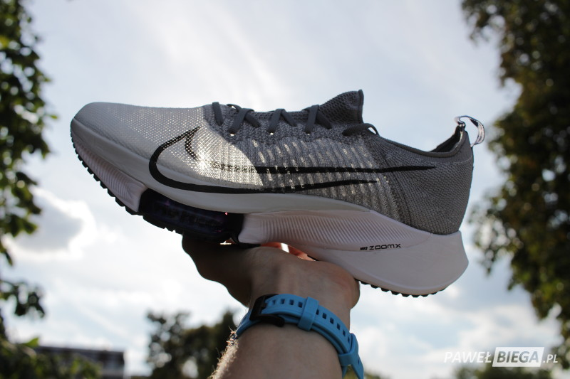 Nike Tempo Next% - przewiewność