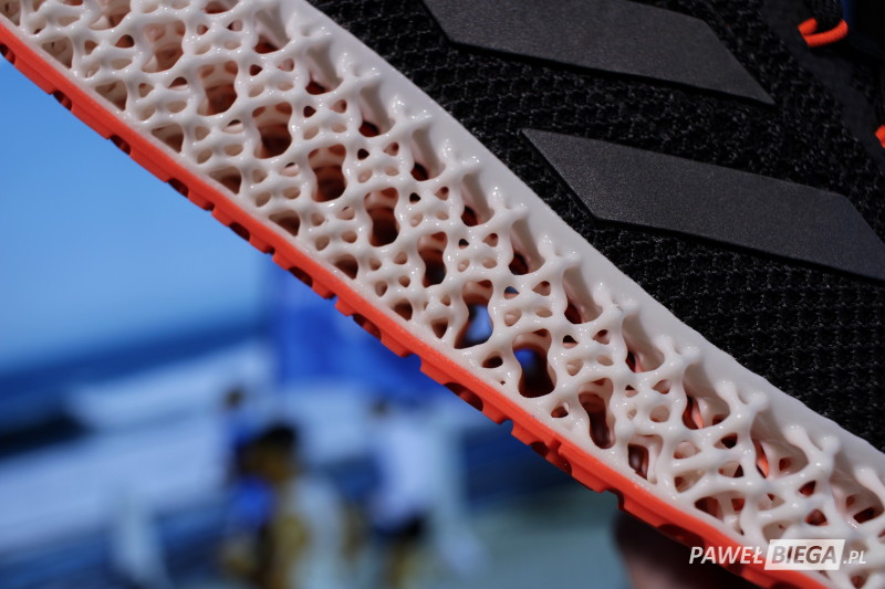 adidas 4DFWD - podeszwa struktura
