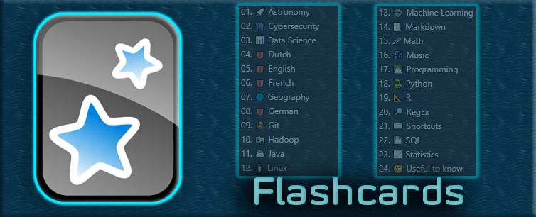 Flashcards - Blog post background
