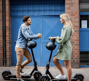 couple-on-scooters
