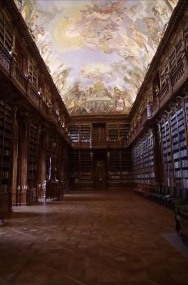 biblioteka strahovska, sala filizoficzna, praga, czechy