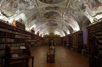 biblioteka strahovska, sala teologiczna, praga, czechy