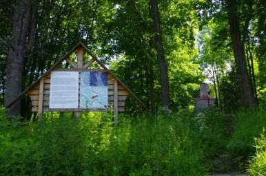 cerkwisko w dawnej opuszczonej wsi czeremcha w beskidzie niskim