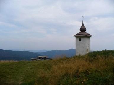 bulandowa kapliczka pod szczytem jaworzyny kamienickiej w gorcach