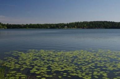 jezioro czos w mrągowie na mazurach