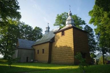 kościół rzymskokatolicki w króliku polskim na podkarpaciu