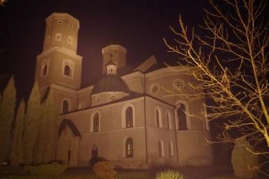 kościół pw. św. mikołaja i stanisława w jarosławiu nocną porą