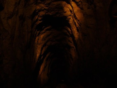 sztolnia czarnego pstrąga w tarnowskich górach, trasa turystyczna
