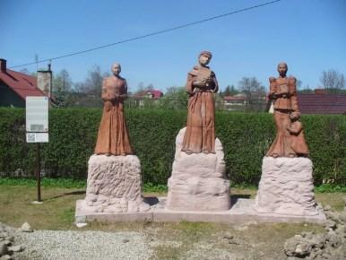 figury trzech świętych lipnickich w lipnicy murowanej