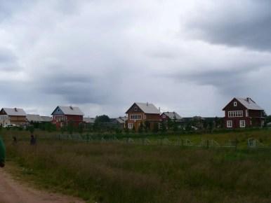 domki w warzudze na półwyspie kolskim w rosji
