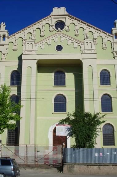 wyremontowana synagoga w drohobyczu na ukrainie
