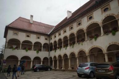 pałac stara grofija w celje w słowenii