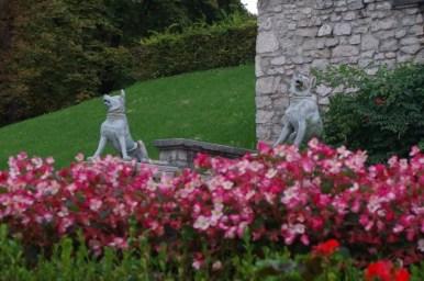 park tivoli w ljubljanie w słowenii
