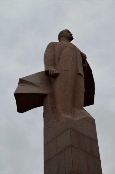 pomnik lenina w tyraspolu w separatystycznej republice naddniestrza