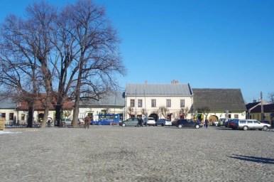 Rynek w Starym Sączu w Małopolsce