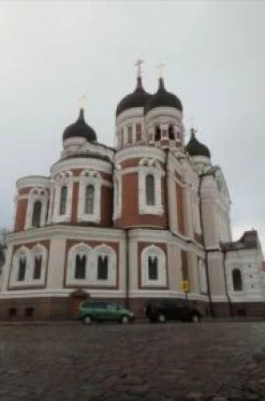 sobór świętego aleksandra newskiego w tallinie w estonii