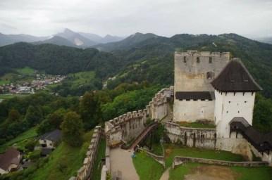 stari grad czyli stary zamek w celje w słowenii