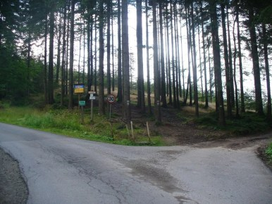 przełęcz szarcula w beskidzie śląskim