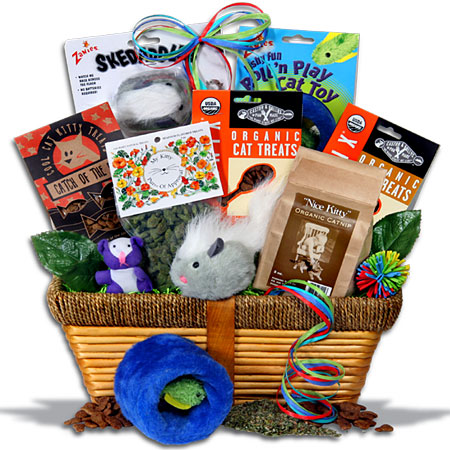 Gourmet Gift Basket - Cat Lovers