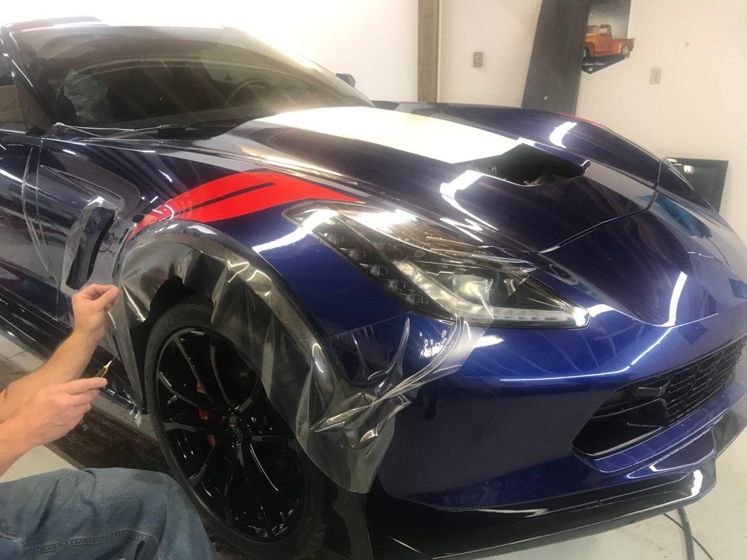 Corvette Clear Bra