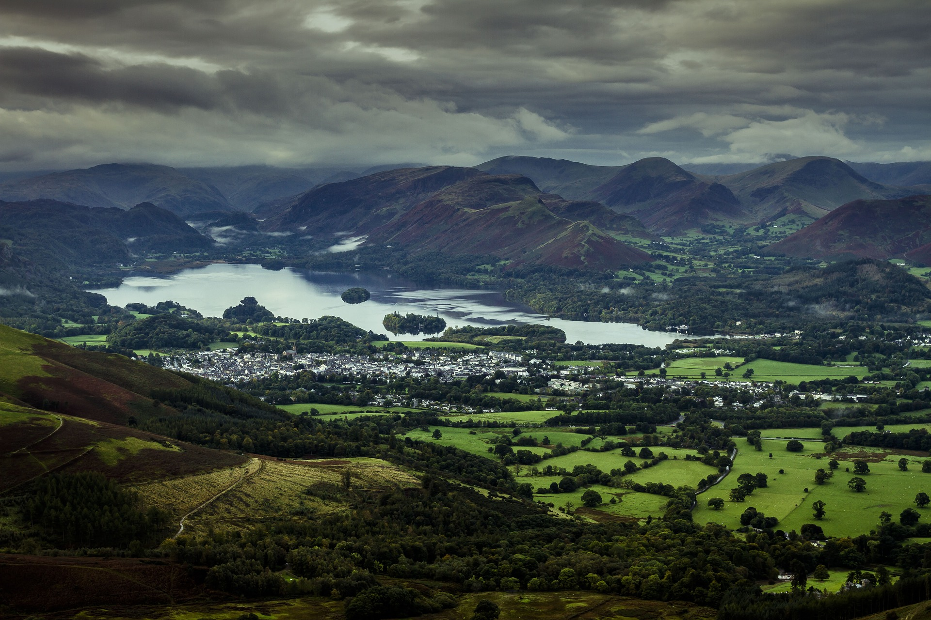 The Lake District by Pixabay