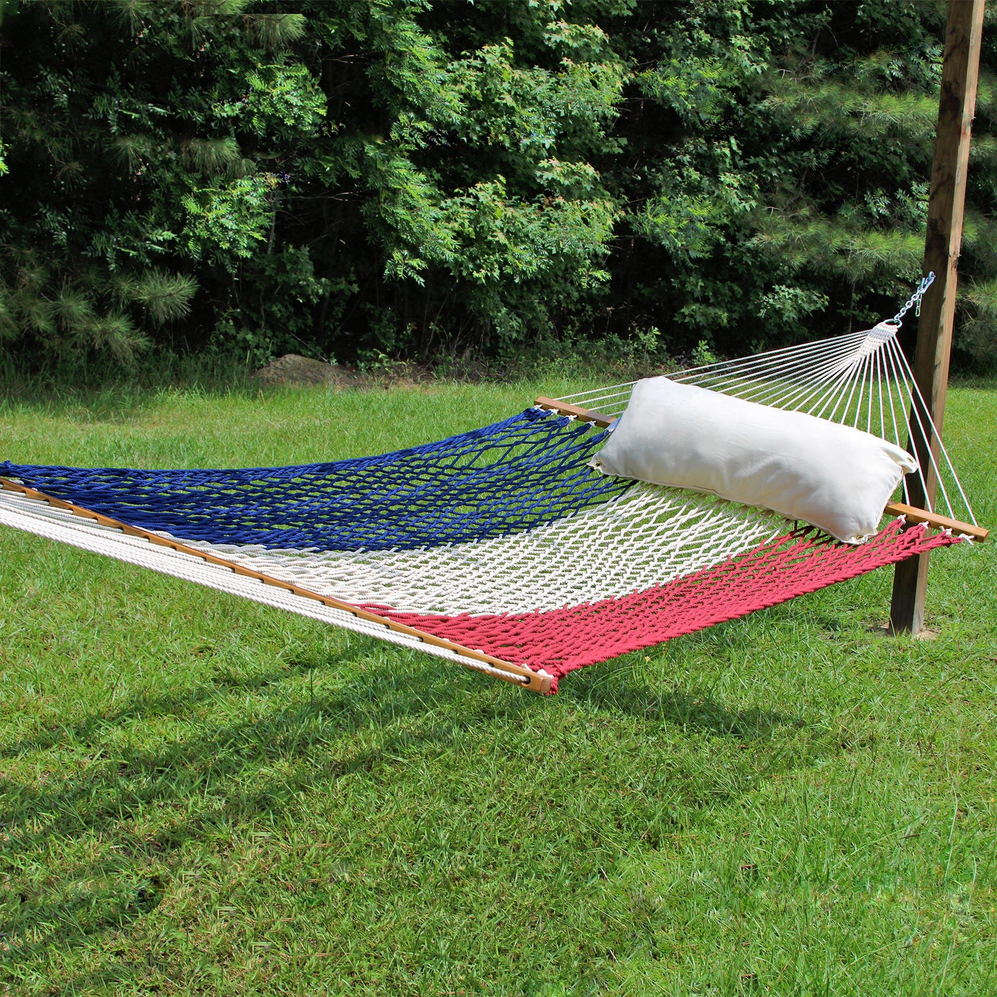 Large Limited Edition Usa Original Duracord Rope Hammock
