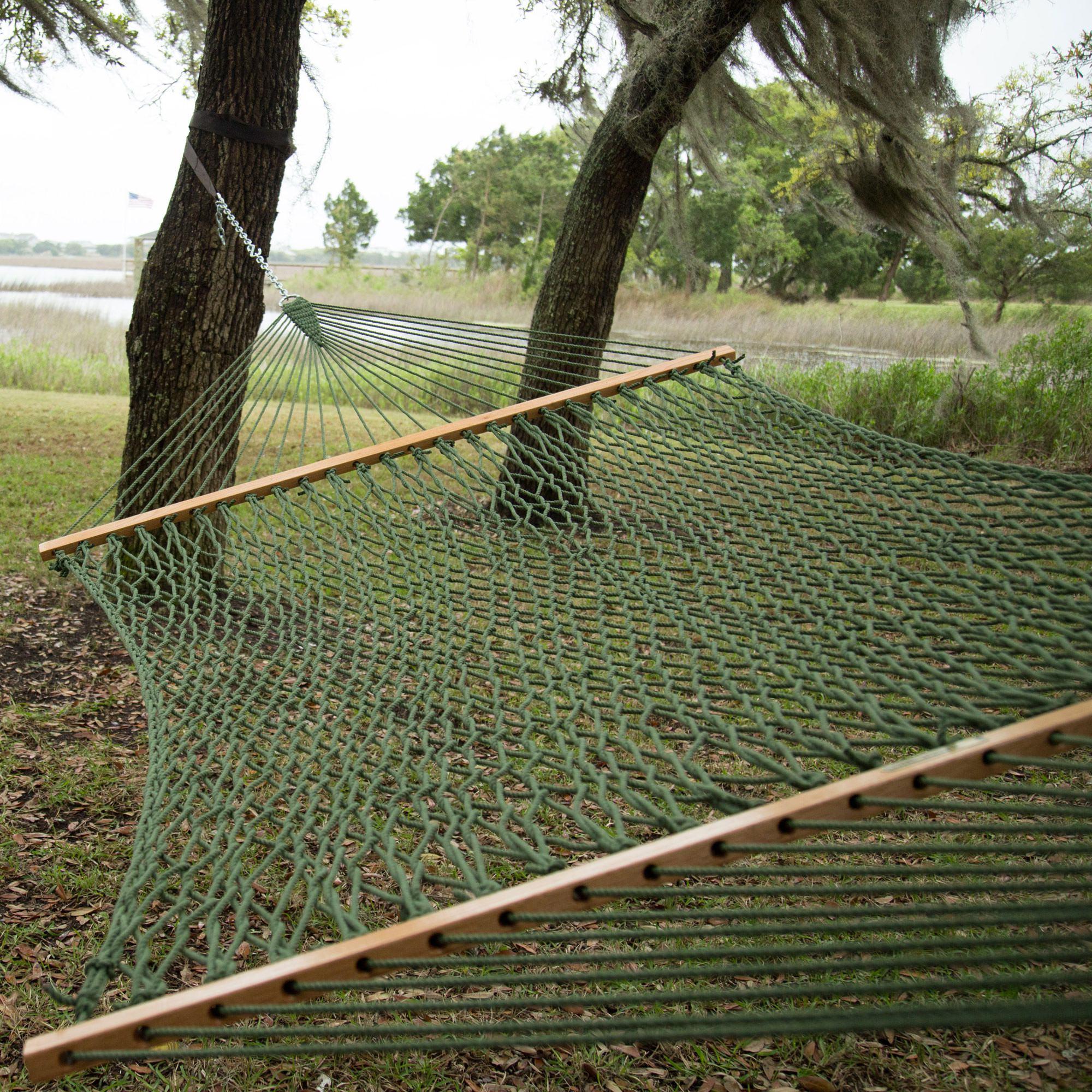 Meadow Presidential Original Duracord Rope Hammock