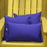 Royal Blue Sunbrella Outdoor Throw Pillow