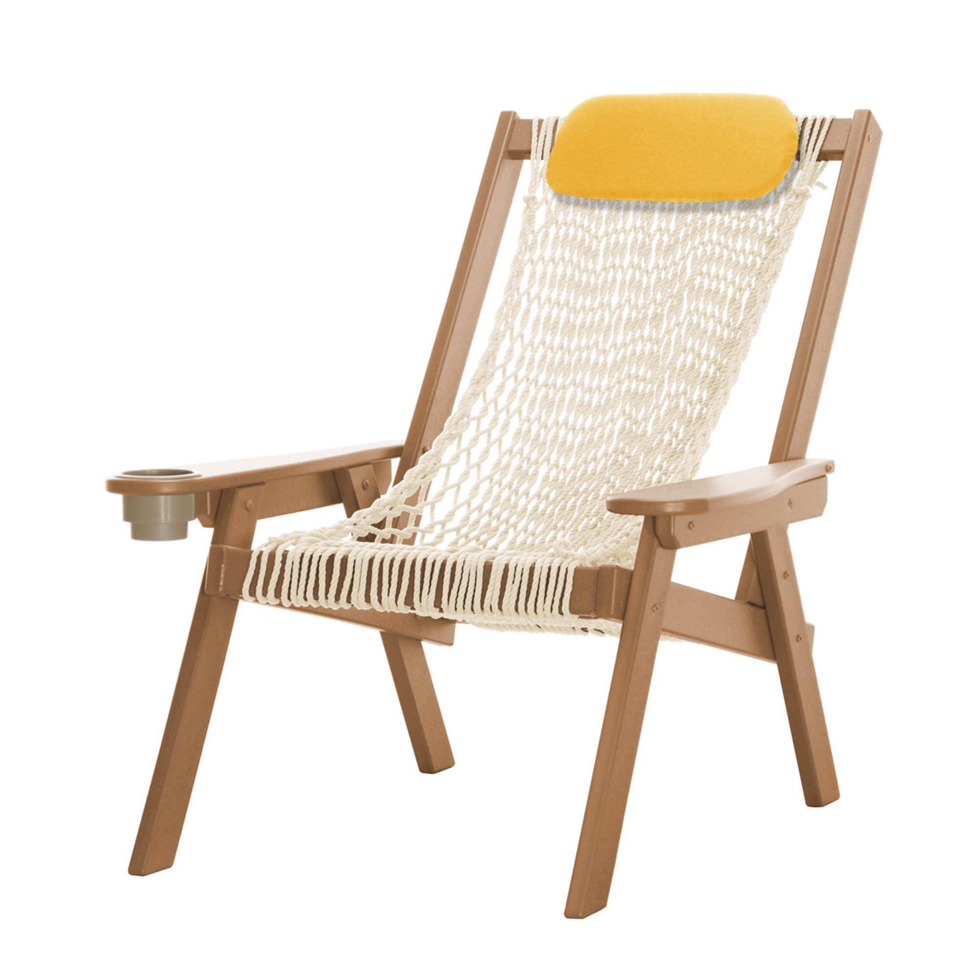 Island Chair Coastal Cedar Durawood Rope Chair Pawleys Island Hammocks