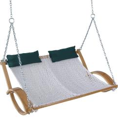 Hanging Chair Double Wheelchair Jump Gone Wrong Pawleys Curved Arm Rope Hammock Swing