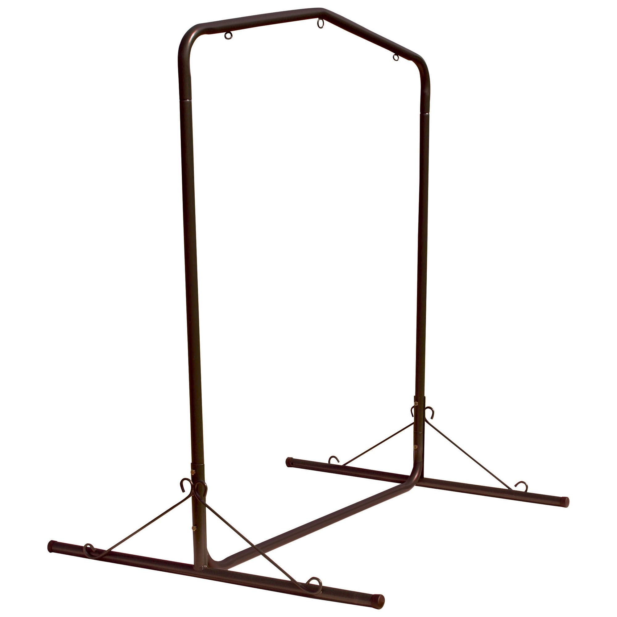 steel hammock chair stand craigslist tables and chairs bronze metal swing on sale swslbr