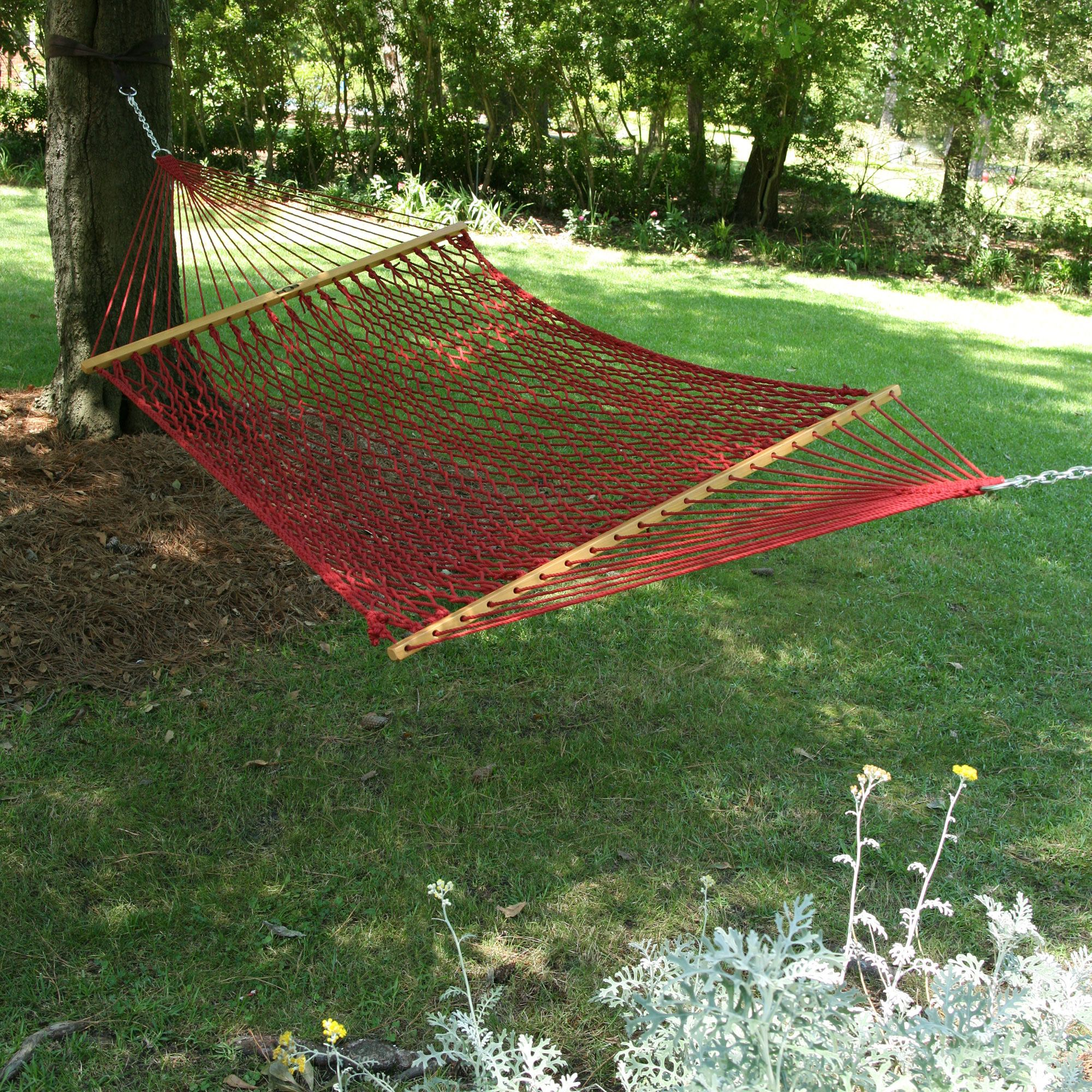 Large Garnet Original Duracord Rope Hammock