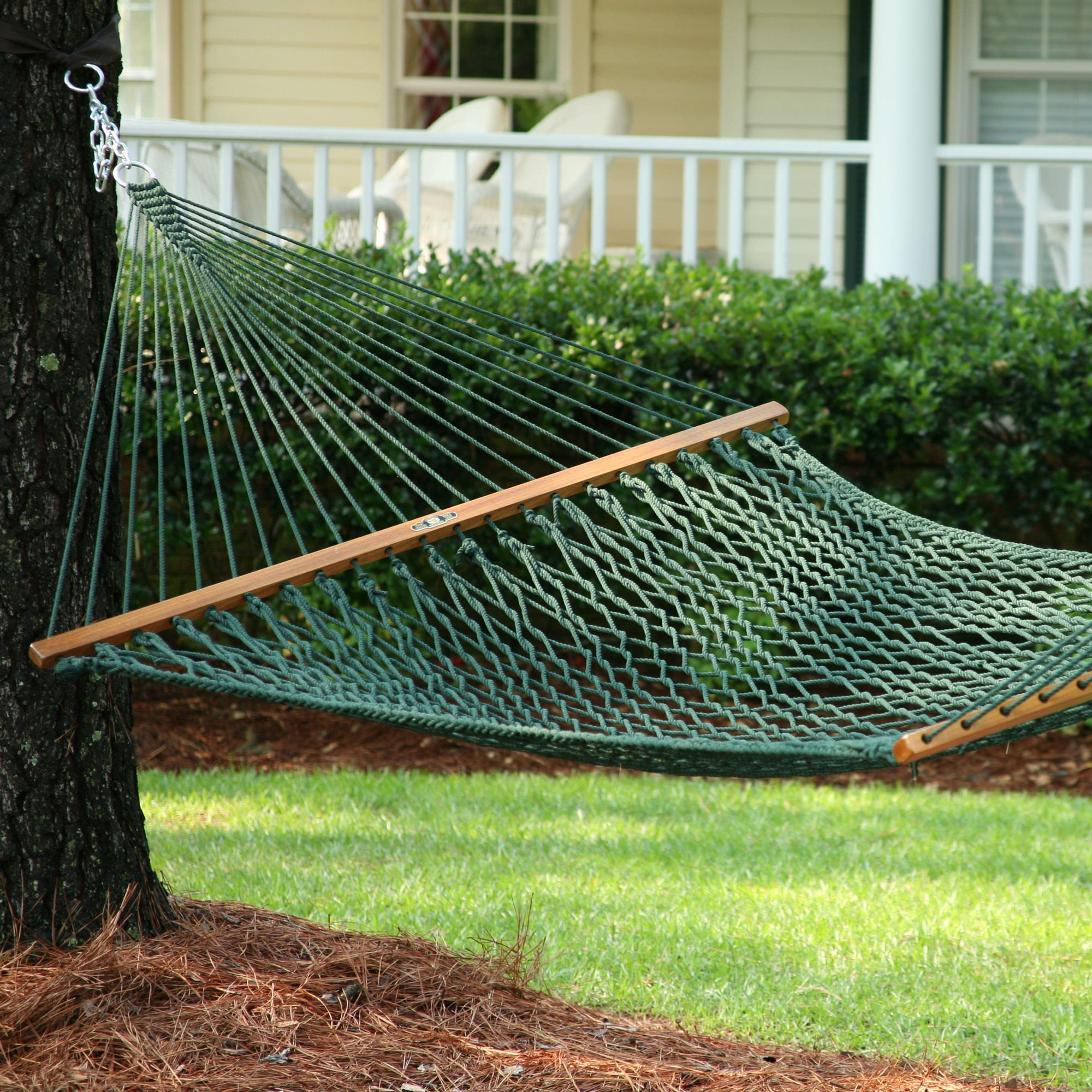 Green Presidential Original Duracord Rope Hammock