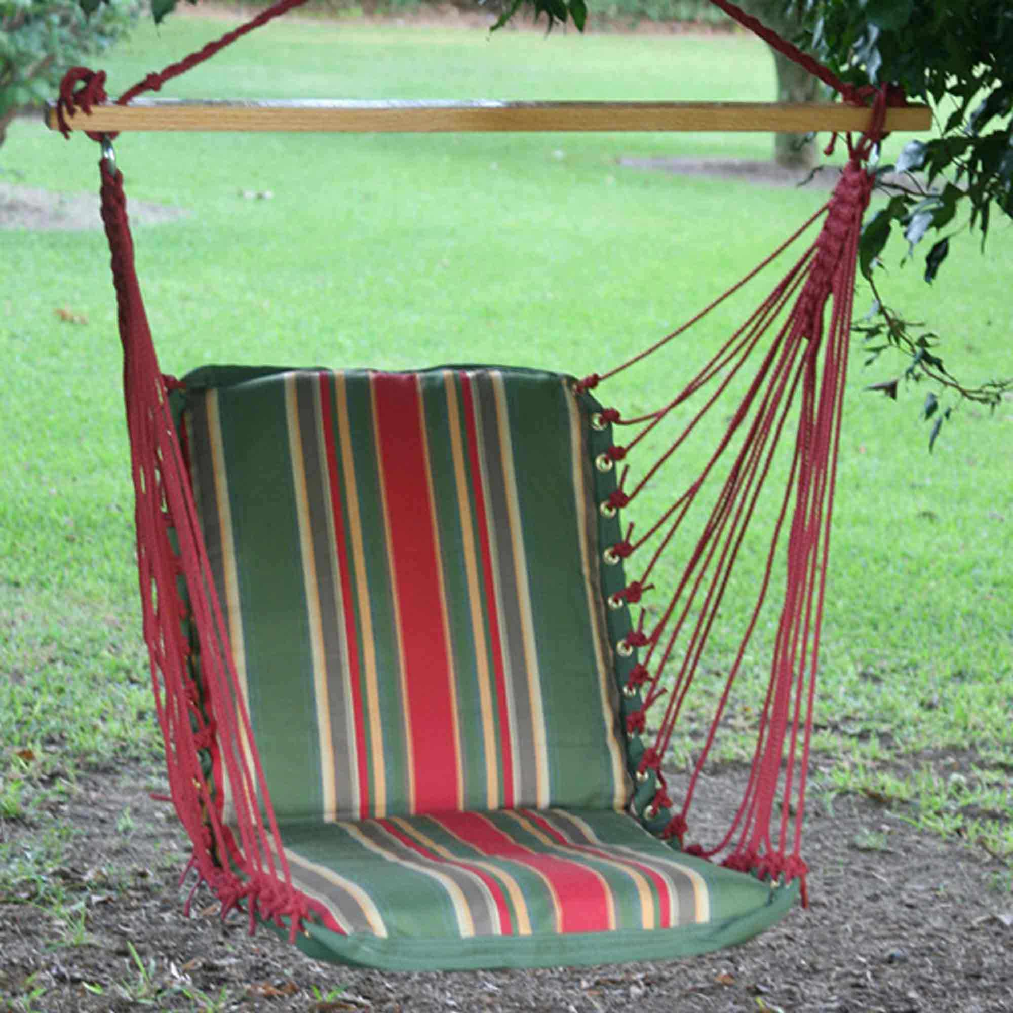 single person hammock chair windsor back pawleys garden cushioned porch swing