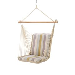 Single Person Hammock Chair Recliner Chairs For Kids Cushioned Swing Milano Dawn Pawleys Island Hammocks