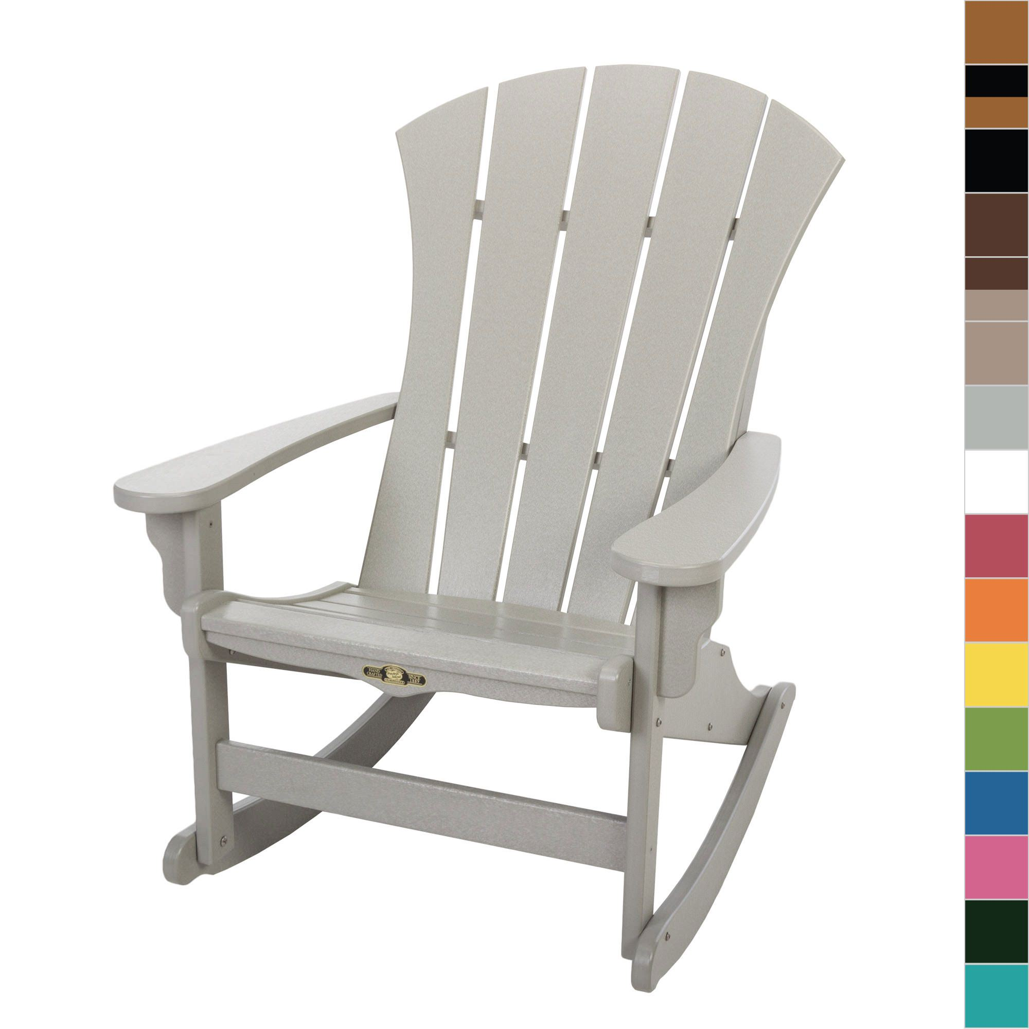 Island Chair Shop Durawood Sunrise Adirondack Rockers On Sale