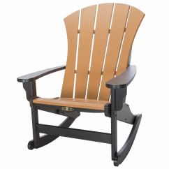 Rocker Outdoor Chairs French Country Dining With Arms Durawood Sunrise Adirondack Pawleys Island Hammocks