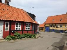 Bilderbuchstraßen auf Bornholm 2017